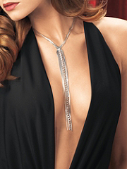 Buy Rhinestone and Chain Drop Necklace, see details about this Sexy Lingerie and more