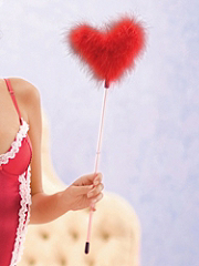 Buy Marabou Heart Feather Duster, see details about this Sexy Lingerie and more