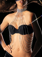 Buy Rhinestone Shot Bead Draped Top, see details about this Sexy Lingerie and more