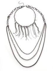 Buy Embrace Chains Strand Necklace, see details about this Sexy Lingerie and more