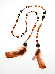 Beads of a Feather Lariat Necklace details, images and more