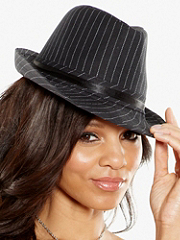 Buy Pinstripe Fedora Hat, see details about this Sexy Lingerie and more