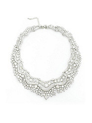 Rhinestone Collar Necklace