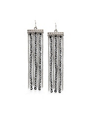 Beaded Chain Earring