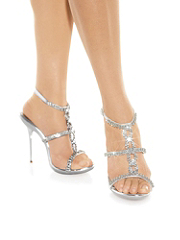Buy Rhinestone Stroke of Midnight Sandal, see details about this Sexy Lingerie and more