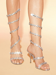 Buy Wraparound Rhinestone Sandal, see details about this Sexy Lingerie and more
