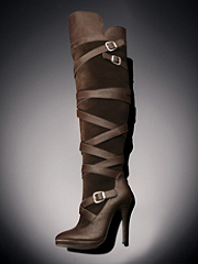 Buy Strappy Over-the-Knee Boot, see details about this Sexy Lingerie and more