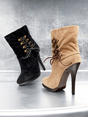 Buy Lace-Up Suede Boot, see details about this Sexy Lingerie and more