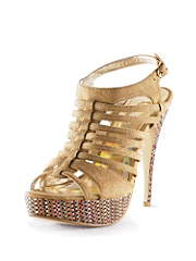 Buy Candy Accents Strappy Straw Stiletto, see details about this Sexy Lingerie and more