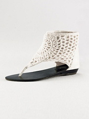 Buy Hippie Chic Crocheted Flat Sandal, see details about this Sexy Lingerie and more