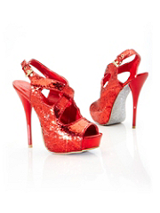 Crisscross Glitter Stiletto details, images and more