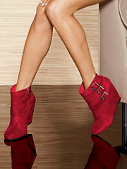 Buy Buckle Wedge Bootie, see details about this Sexy Lingerie and more