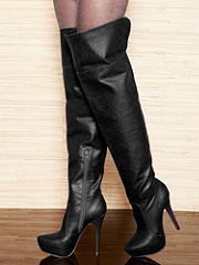 Buy Cuffed Over-the-Knee Boot, see details about this Sexy Lingerie and more