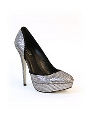 Glitter Cutout Pump Charles by Charles David