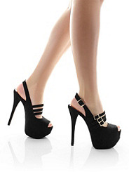 STRAPPY SHADOW STILETTO