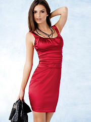 Buy Satin Classic Cocktail Sheath, see details about this Sexy Lingerie and more