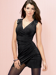 Buy Sequins Shirring Knit Dress PLUS, see details about this Sexy Lingerie and more