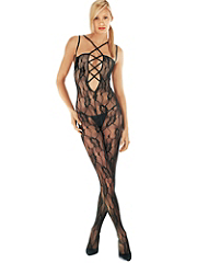 Buy Lace-Up Bodystocking Plus, see details about this Sexy Lingerie and more