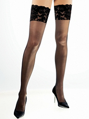 Buy Wide Lace-Top Thigh Highs, see details about this Sexy Lingerie and more