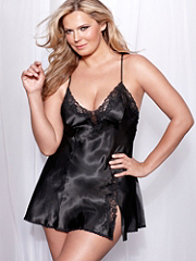 Buy Crossback Classic Satin Chemise PLUS, see details about this Sexy Lingerie and more