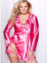 Buy Satin Ruffle Sleepshirt PLUS, see details about this Sexy Lingerie and more