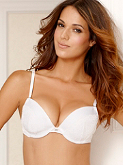 Buy Hollywood Exxtreme Cleavage Satin and Lace Demi Bra, see details about this Sexy Lingerie and more