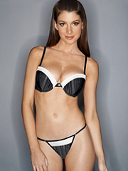 Buy Hollywood Exxtreme Cleavage Mesh Satin Tuxedo Thong, see details about this Sexy Lingerie and more