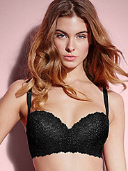 Breathtaking Lace Balconette Bra