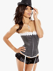 Buy Hollywood Dream Menswear Corset, see details about this Sexy Lingerie and more