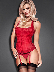 Buy The Hollywood Dream Full-Figure Halter Corset, see details about this Sexy Lingerie and more