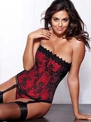 Buy The Hollywood Dream Full-Figure Lace Corset, see details about this Sexy Lingerie and more