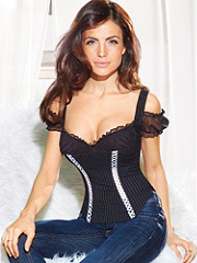 Buy Pinstripe Off-Shoulder Corset, see details about this Sexy Lingerie and more