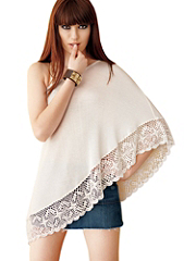 Crocheted Whisper Poncho details, images and more