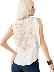Buy Crocheted-Back Breeze Top, see details about this Sexy Lingerie and more