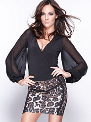 Leopard Mini Skirt