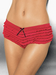 Buy Ruffled Mesh Crotchless Boyshort, see details about this Sexy Lingerie and more