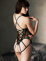 Buy Caged Corset Teddy, see details about this Sexy Lingerie and more