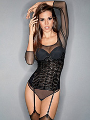 Sleek-n-Sexy Caged Bustier