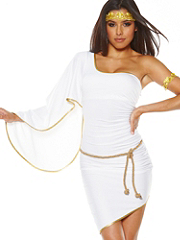 Buy Grecian Goddess One-Shoulder Dress, see details about this Sexy Lingerie and more