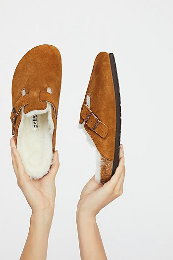 Boston Shearling Birkenstock