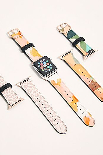 Saffiano Apple Watch Band