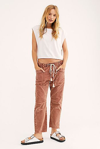 City Slouch Cord Pants