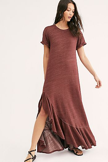 Havana Tee Maxi Dress