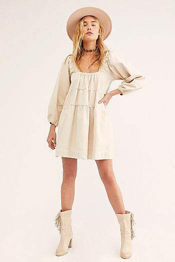 Lou Jean Babydoll Dress