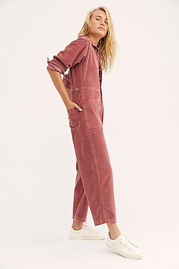 Gia Cord Coverall