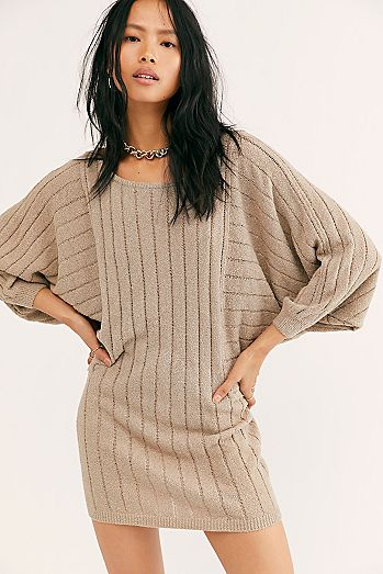 Mauna Kea Sweater Mini Dress