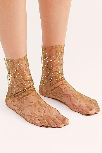 Crystal Lace Socks