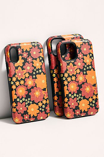 Retro Floral Phone Case