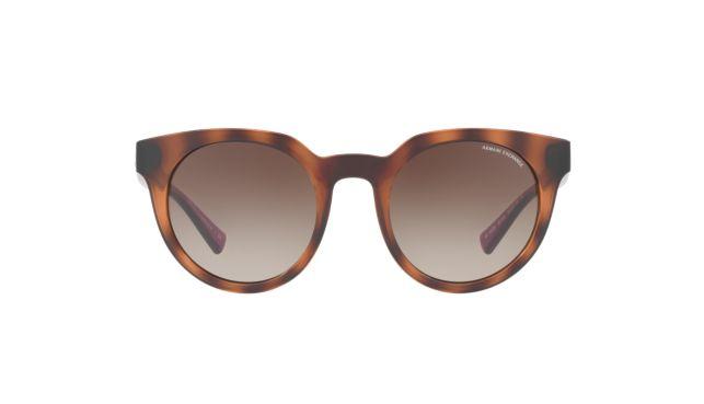 Armani Exchange AX4062S Sunglasses-Women's tortoise