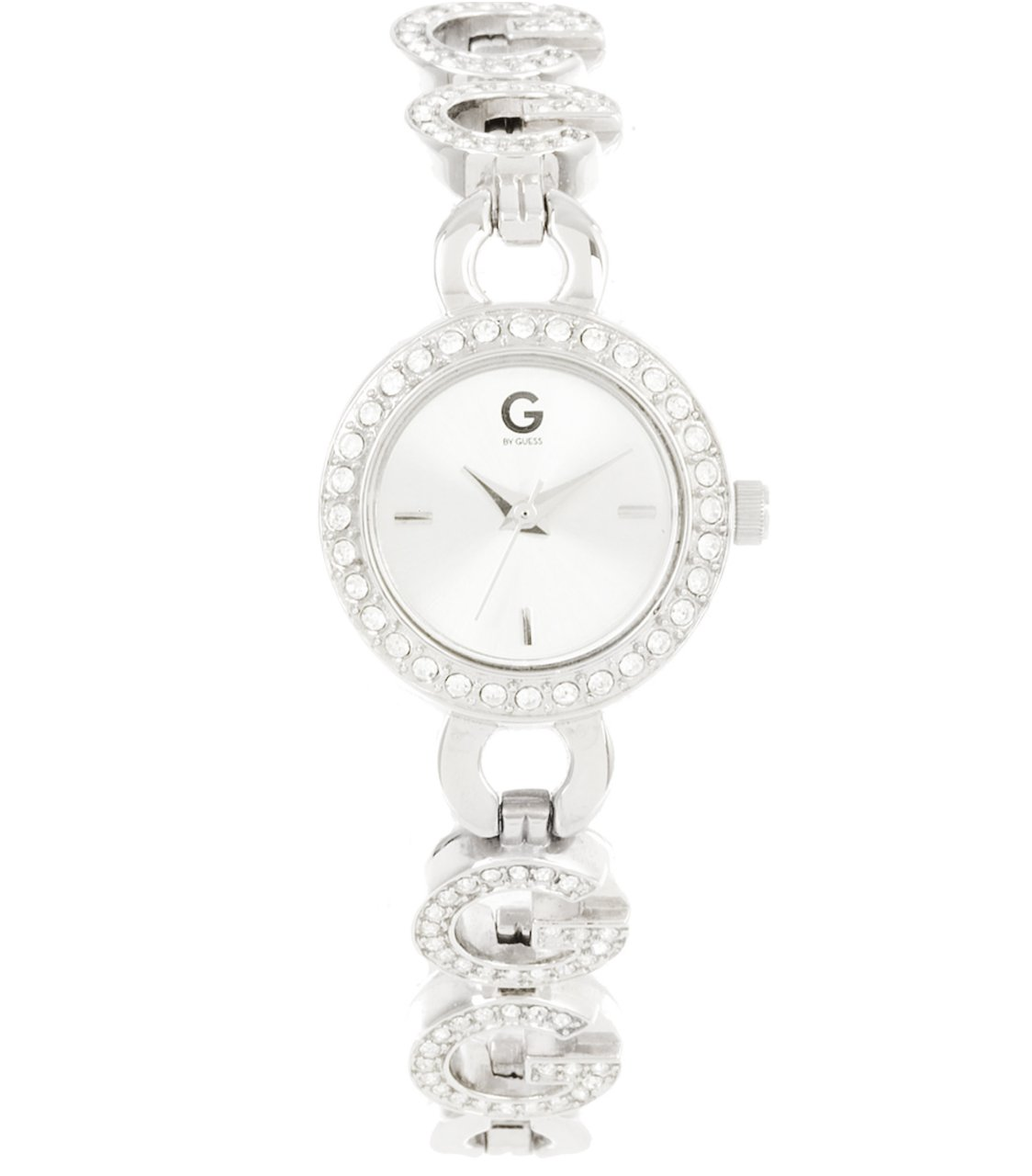 G by GUESS Silver-Tone Bracelet Watch